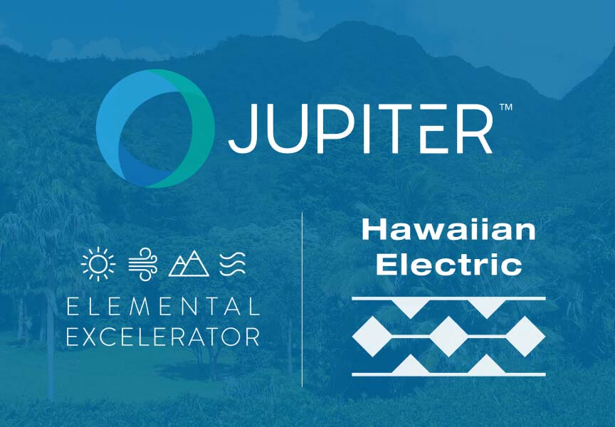 Jupiter Announces Partnership With Hawaiian Electric Companies