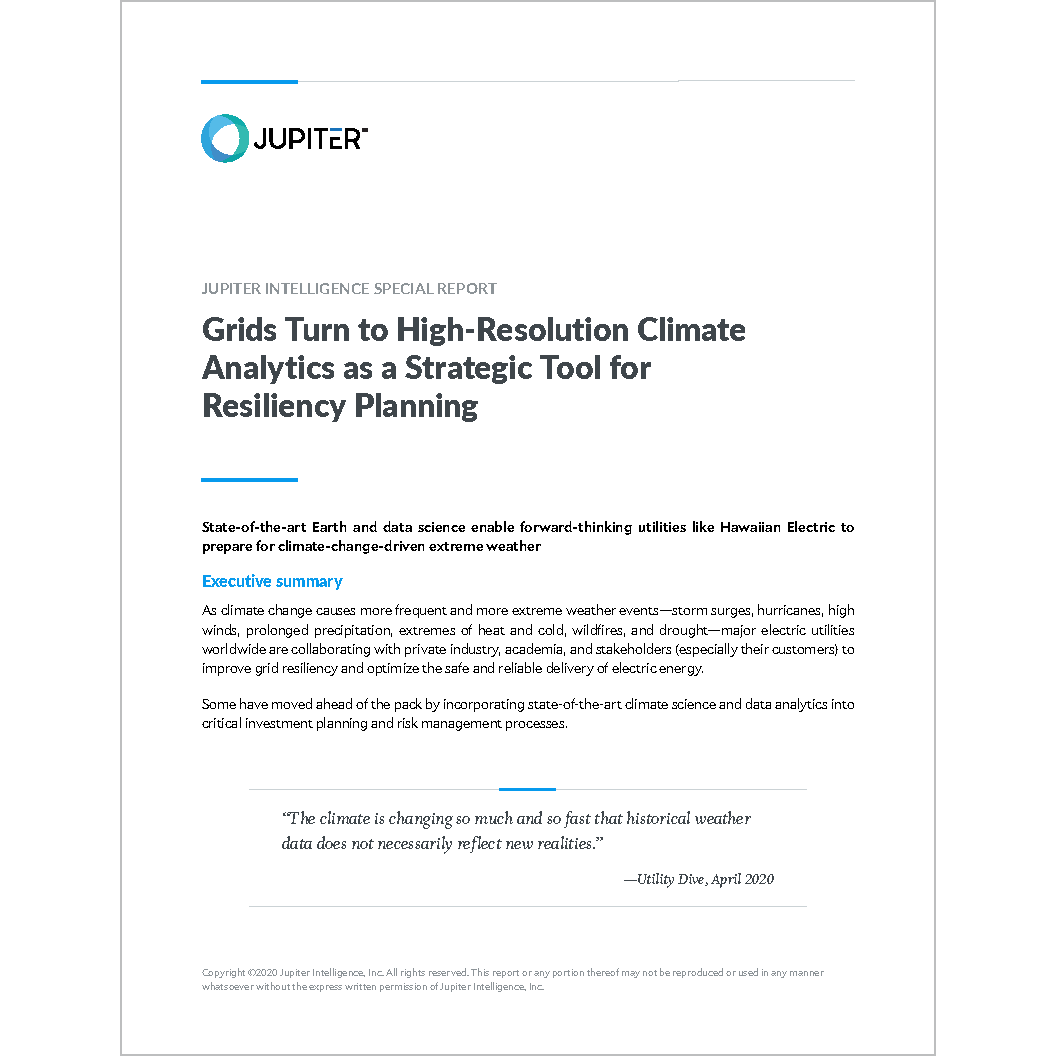 Grids Turn to High-Resolution Climate Analytics as a Strategic Tool for Resiliency Planning